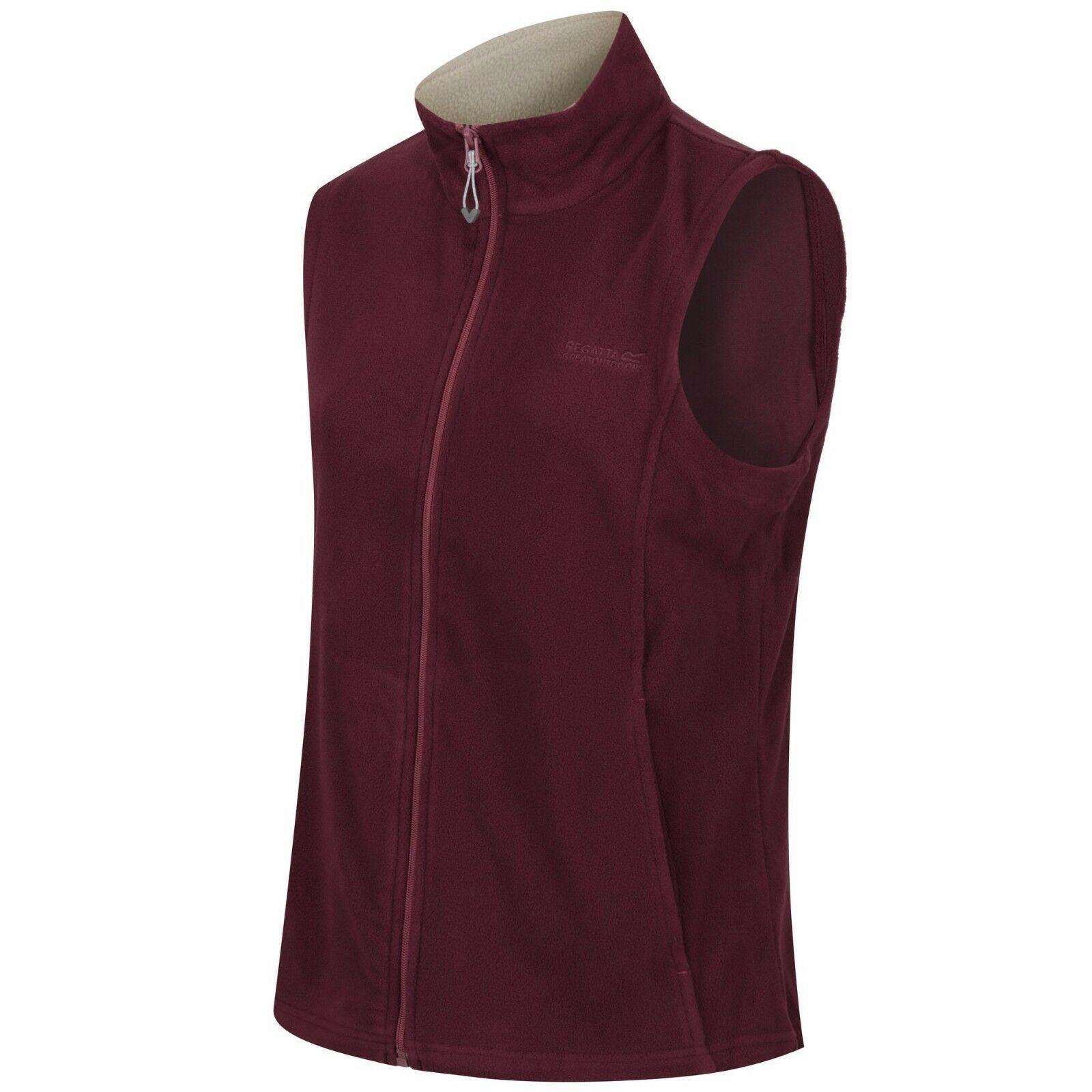 miniatuur 12 - Regatta Womens Sweetness Full Zip Micro Fleece Casual Bodywarmer Waistcoat