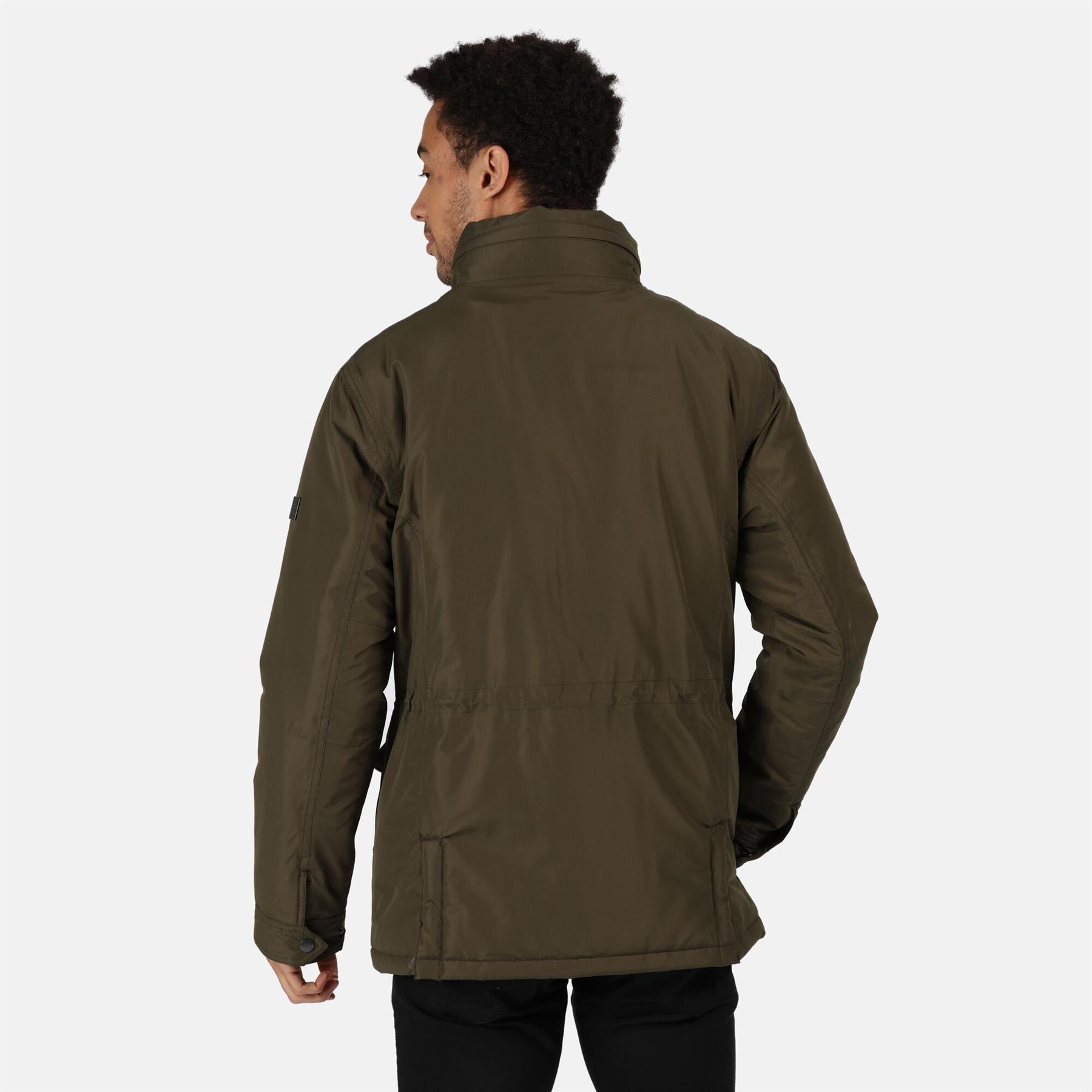 miniatuur 10 - Regatta Mens Rawson Waterproof Breathable Insulated Jacket Coat