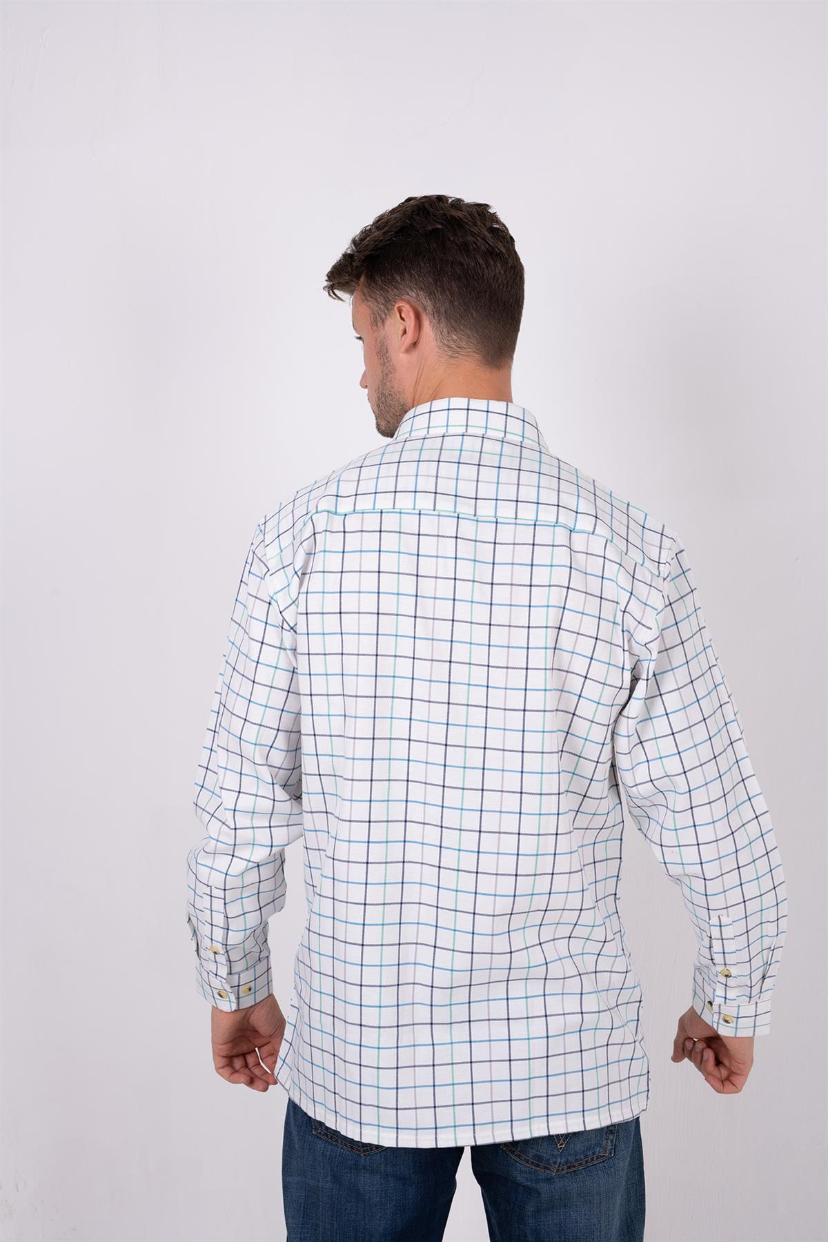 Country Classics Mens Long Sleeved Quality Country Check Shirt Blenheim £17.99