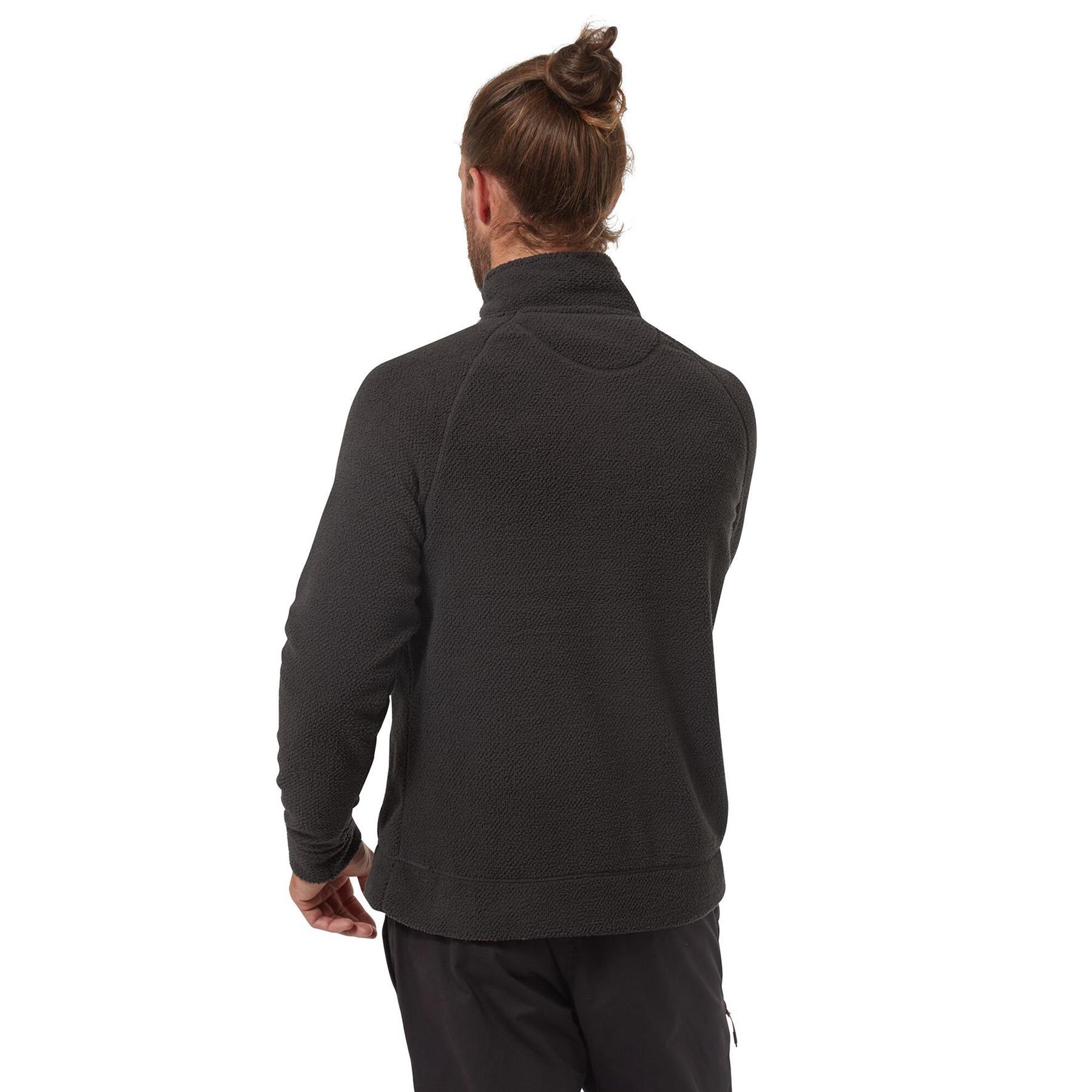 miniatuur 7 - Craghopper Mens Cason Fleece Half Zip Bobble Soft Jumper Pullover Sweater