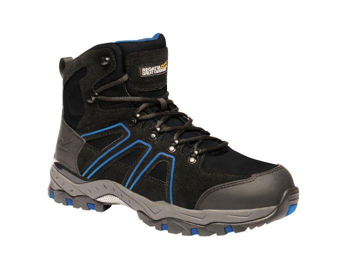 miniatuur 11 - Regatta Mens Work Safety Protective Shoes Steel Toe Cap Boots Workwear