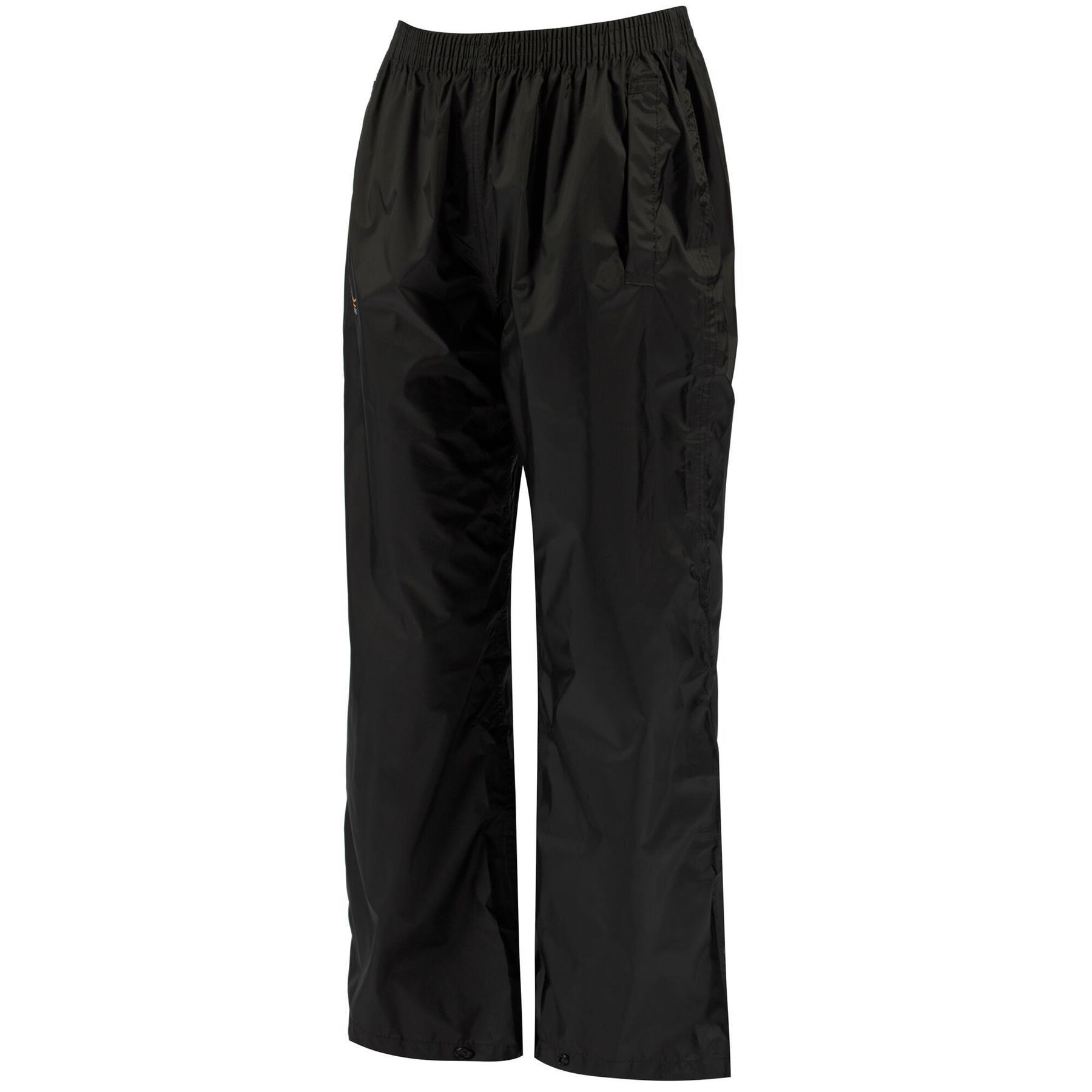 miniatuur 6 - Regatta Kids Pack It Waterproof Packable Overtrousers Boys Girls Trousers