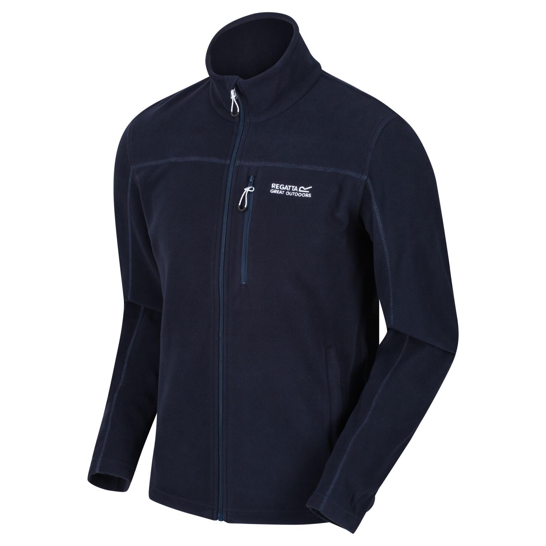 miniatuur 13 - Regatta Mens Fellard Fleece Jacket Full Zip Up Coat S M L XL 2XL 3XL 4XL