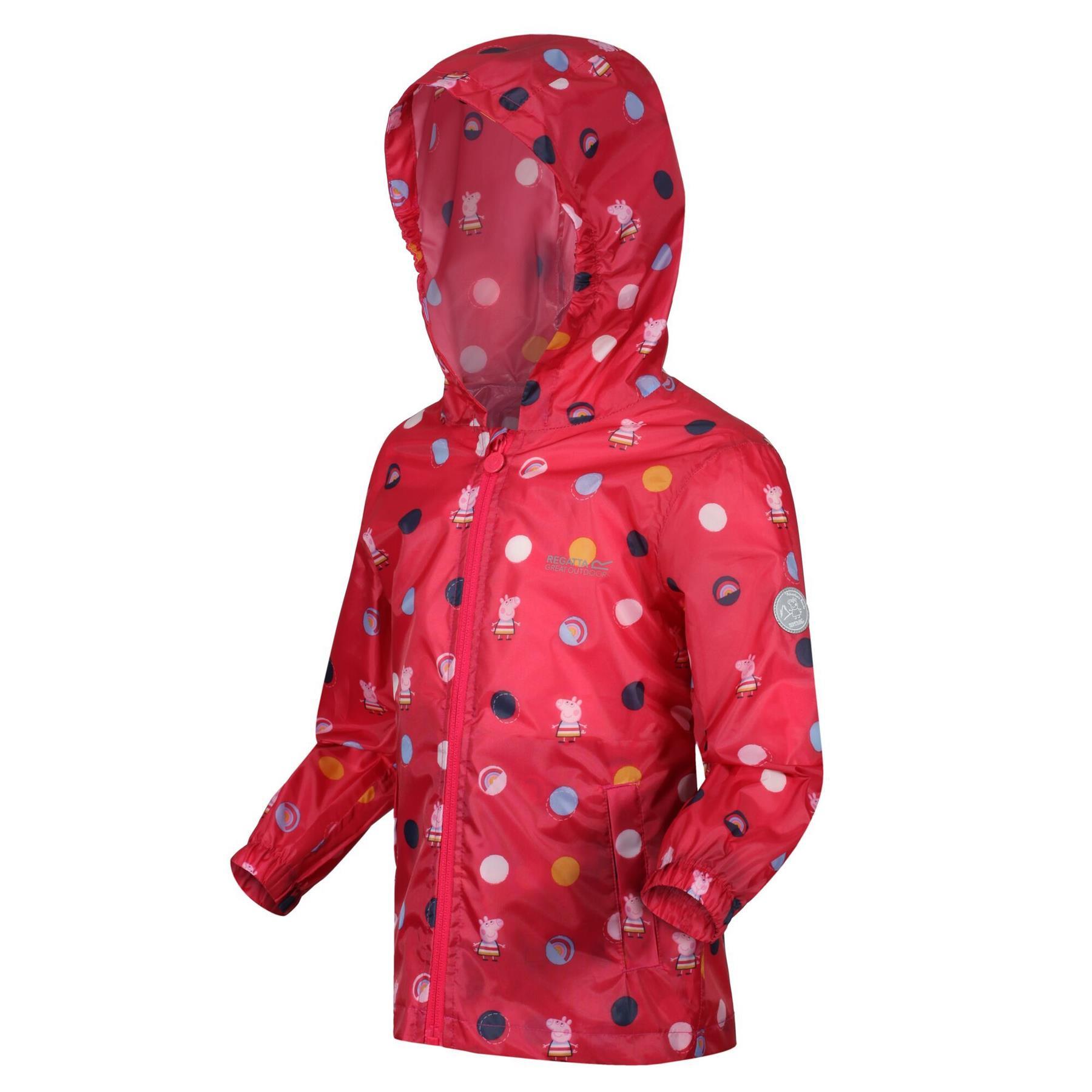 miniatuur 29 - Regatta Kids Pack it Jacket II Lightweight Waterproof Packaway Jacket Boys Girls