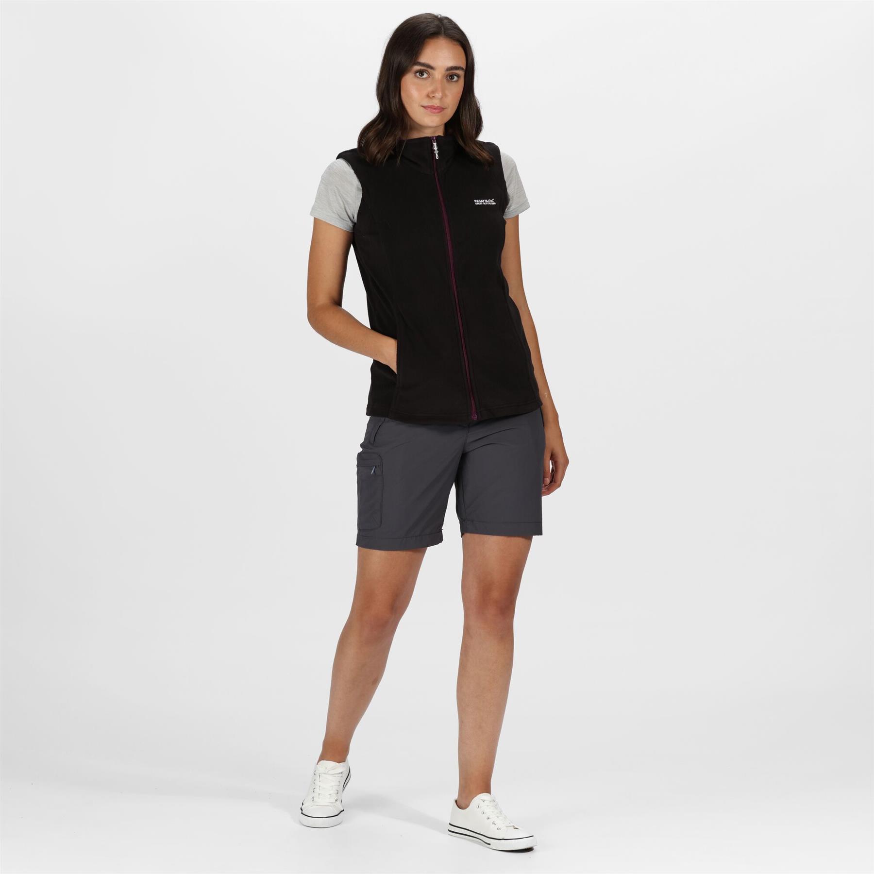 miniatuur 4 - Regatta Womens Sweetness Full Zip Micro Fleece Casual Bodywarmer Waistcoat