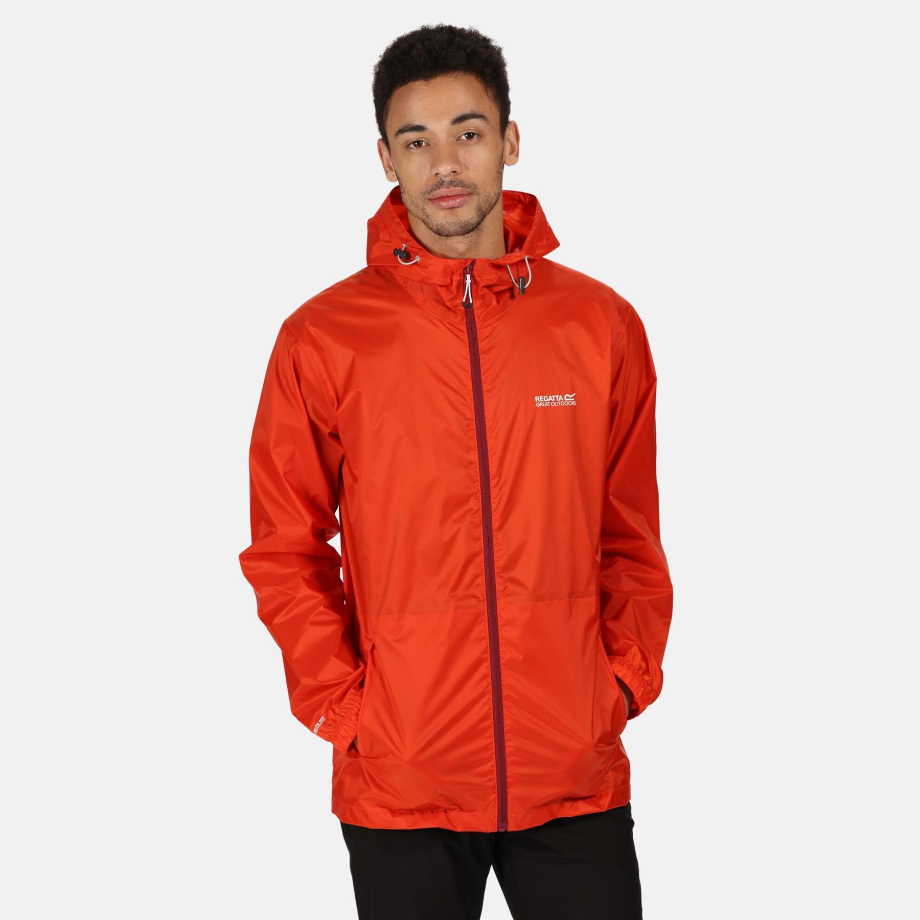 miniatuur 16 - Regatta Mens Pack-it In a bag Packable Waterproof Jacket Outdoor Pack a mac