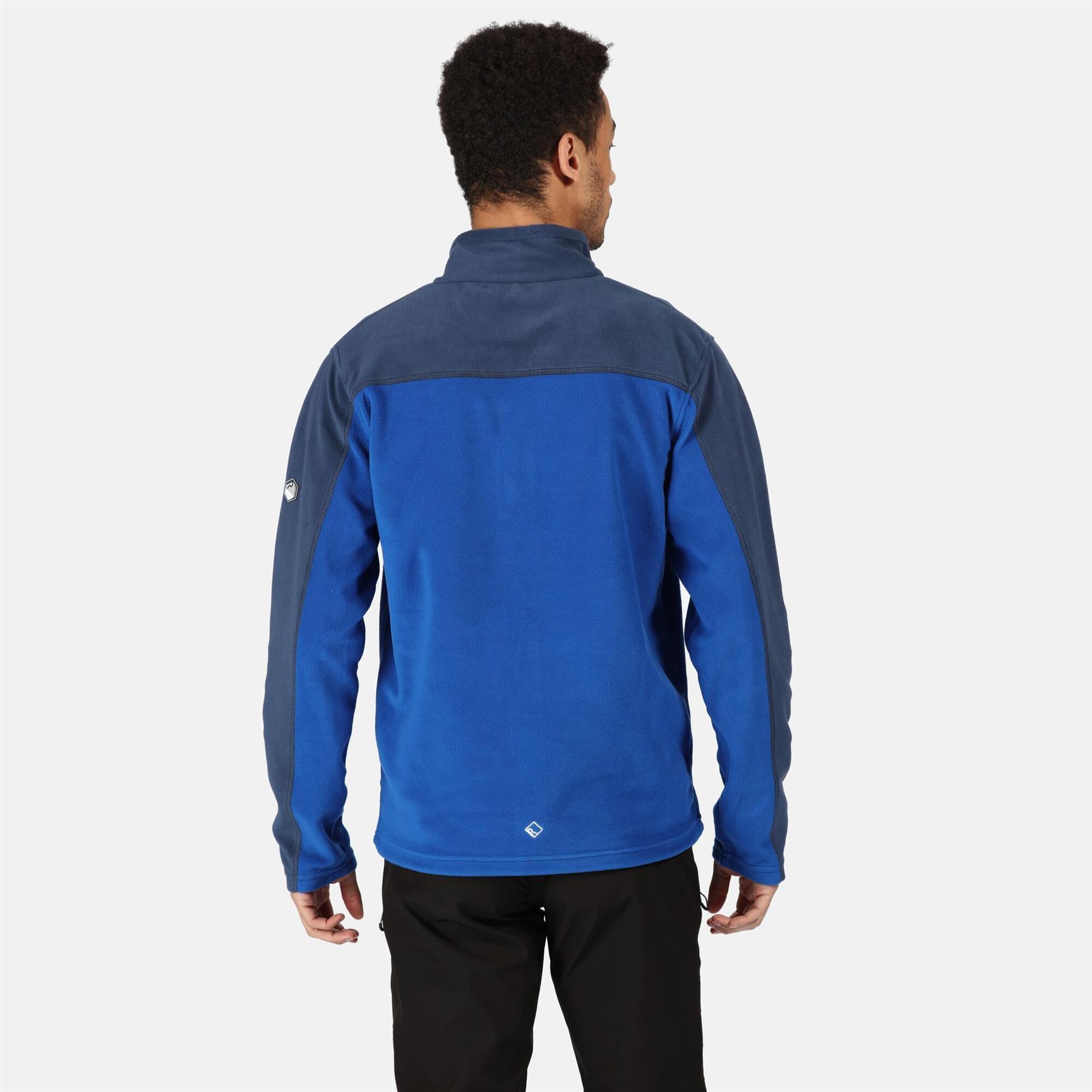 miniatuur 6 - Regatta Mens Fellard Fleece Jacket Full Zip Up Coat S M L XL 2XL 3XL 4XL