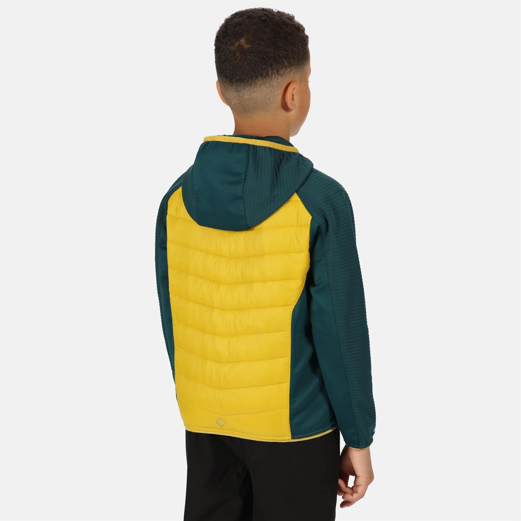 miniatuur 7 - Regatta Kids Kielder IV Lightweight Hybrid Softshell Jacket Boys Girls Coat