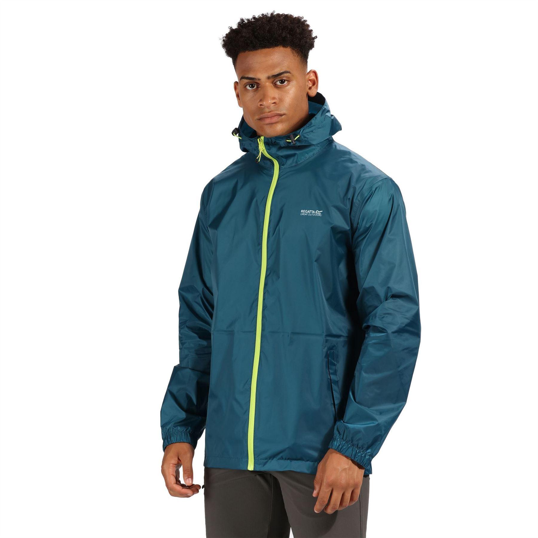 miniatuur 37 - Regatta Mens Pack-it In a bag Packable Waterproof Jacket Outdoor Pack a mac
