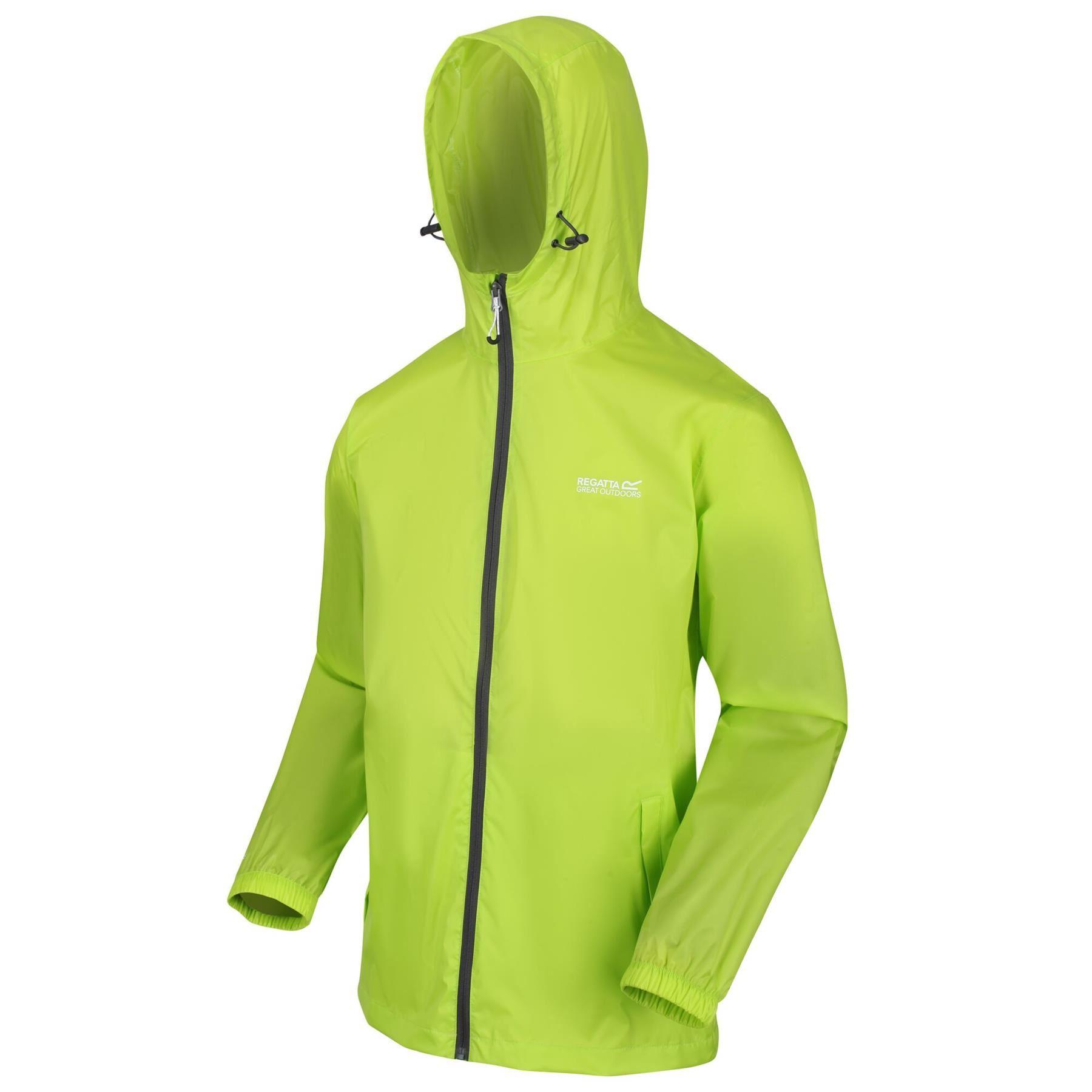 miniatuur 25 - Regatta Mens Pack-it In a bag Packable Waterproof Jacket Outdoor Pack a mac