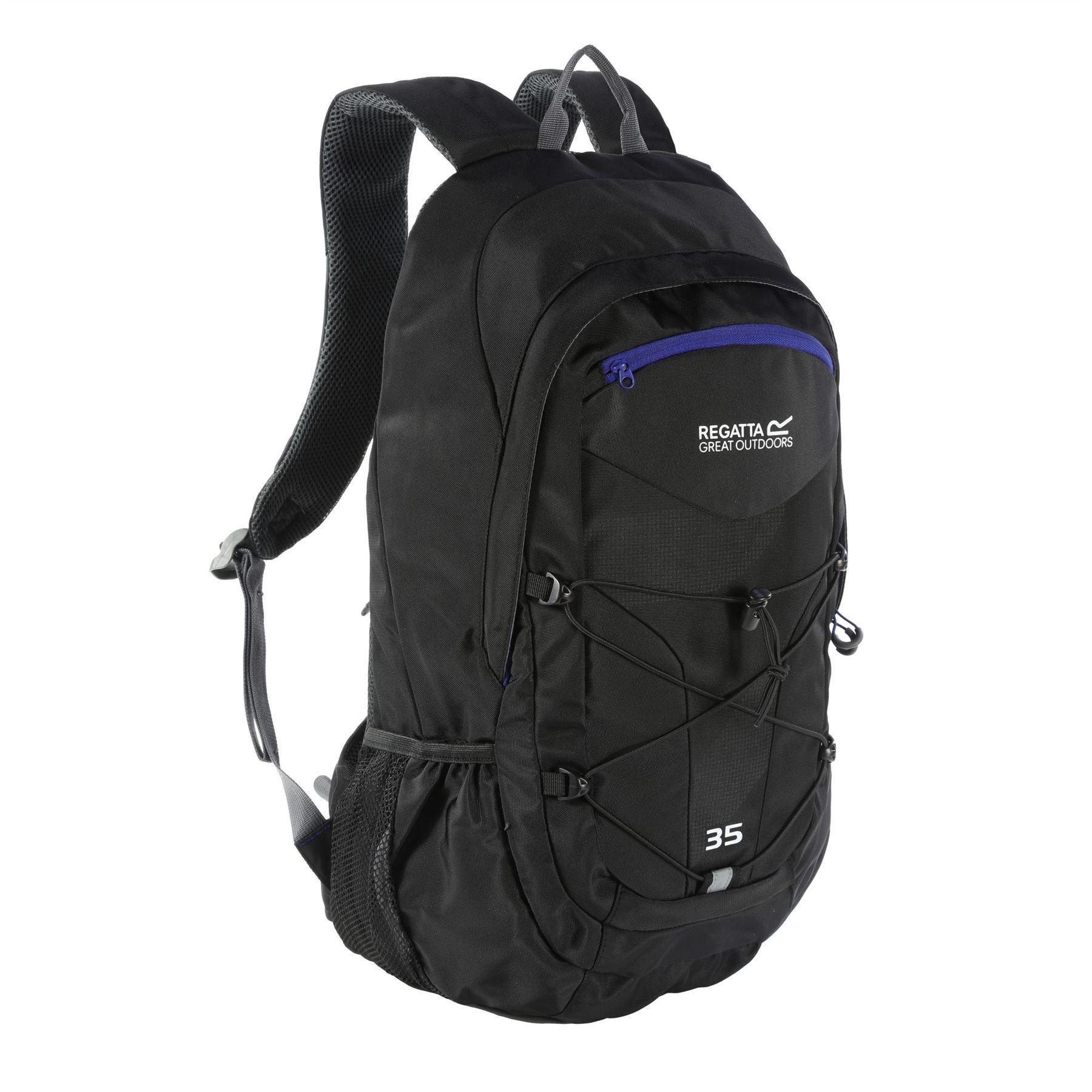 miniatuur 3 - Regatta Atholl II 35 Litre Walking Backpack Rucksack Mens Womens Hiking Travel