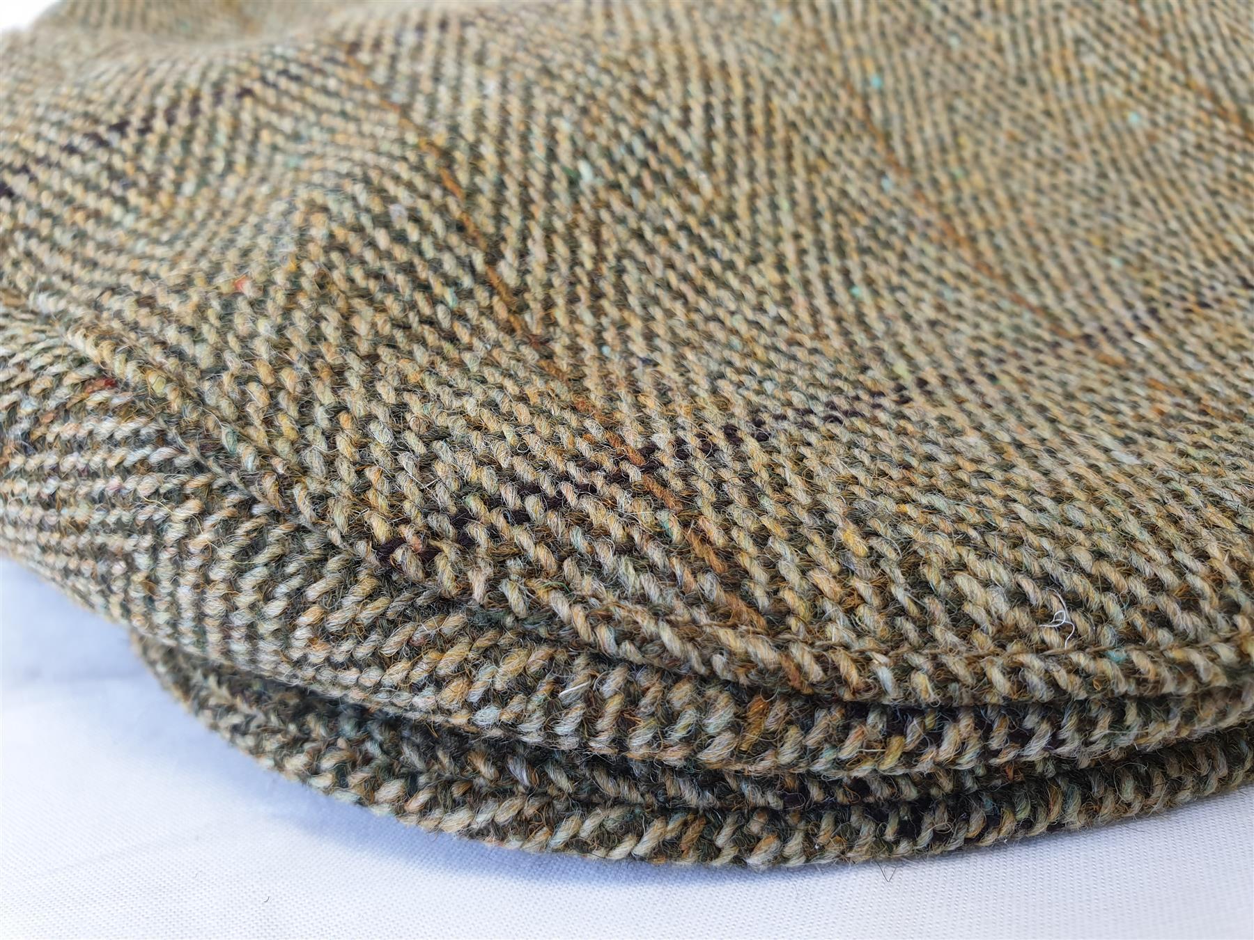 miniatuur 4 - Childrens Tweed Peaky Blinder Flat Cap Outdoor Hat Hazy Blue