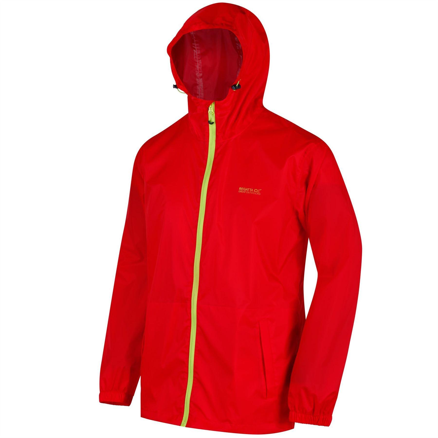 miniatuur 13 - Regatta Mens Pack-it In a bag Packable Waterproof Jacket Outdoor Pack a mac