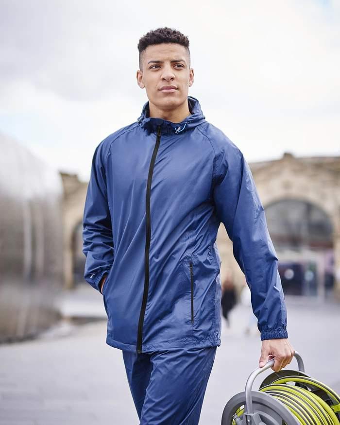 miniatuur 36 - Regatta Mens Pack-it In a bag Packable Waterproof Jacket Outdoor Pack a mac