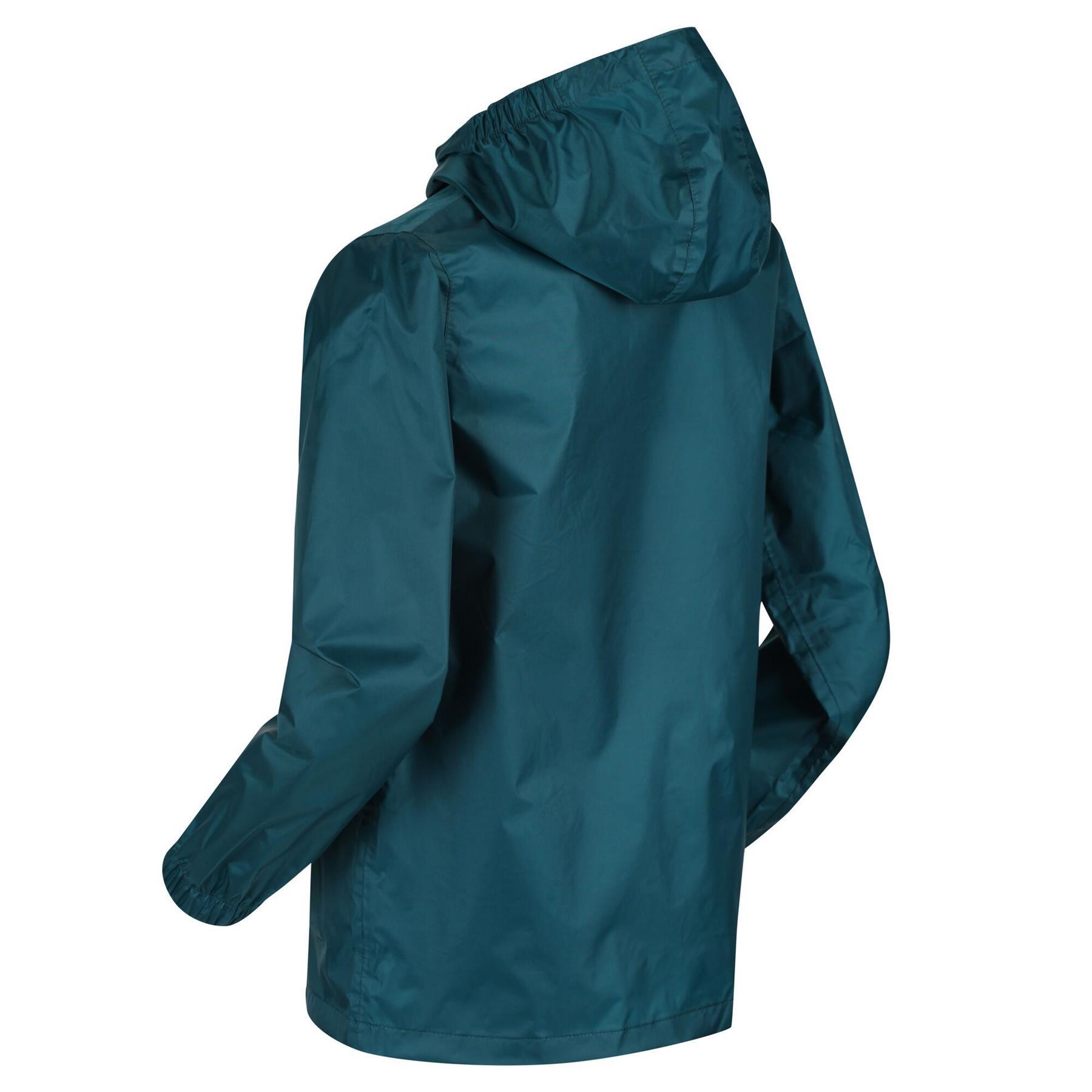 miniatuur 8 - Regatta Kids Pack it Jacket II Lightweight Waterproof Packaway Jacket Boys Girls