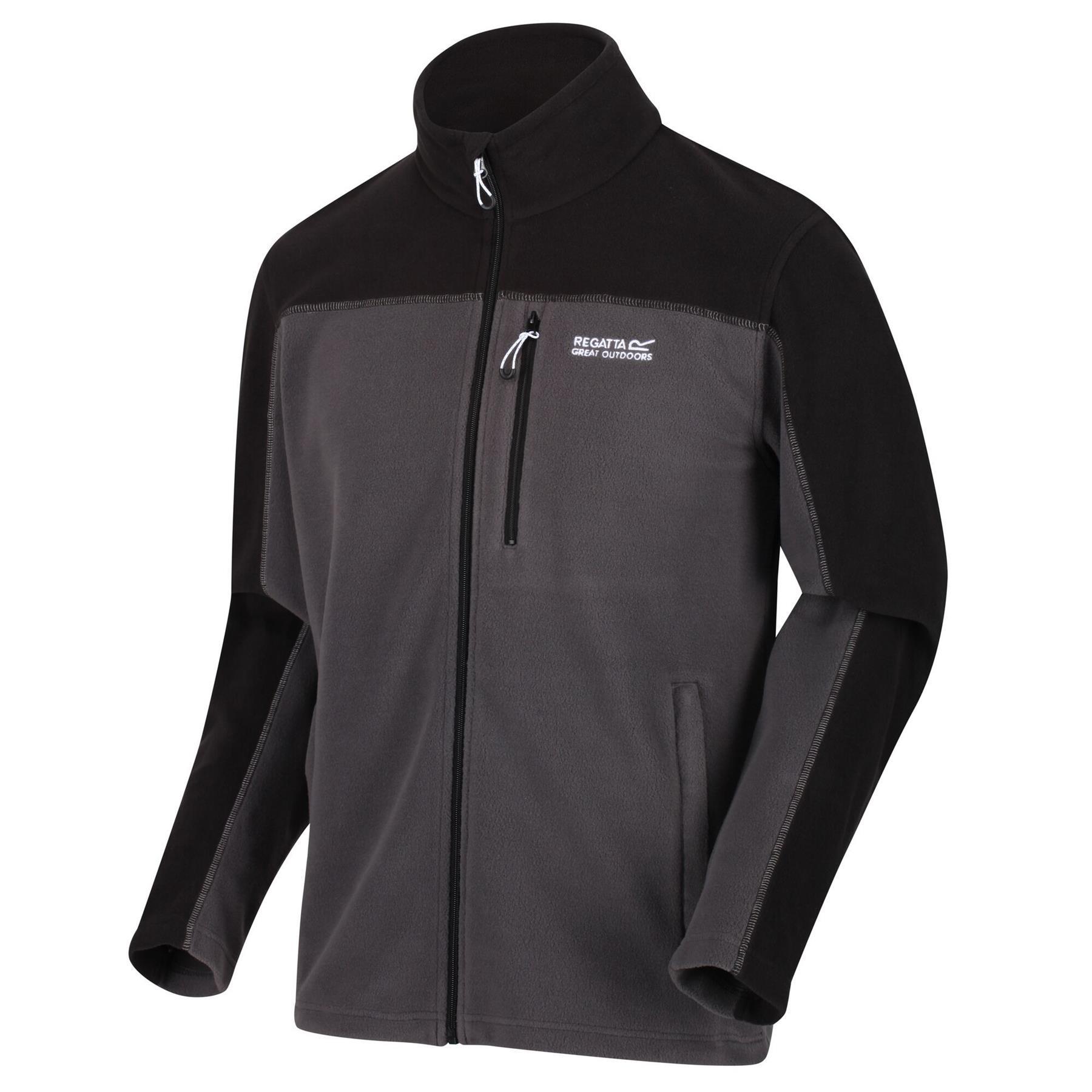 miniatuur 10 - Regatta Mens Fellard Fleece Jacket Full Zip Up Coat S M L XL 2XL 3XL 4XL