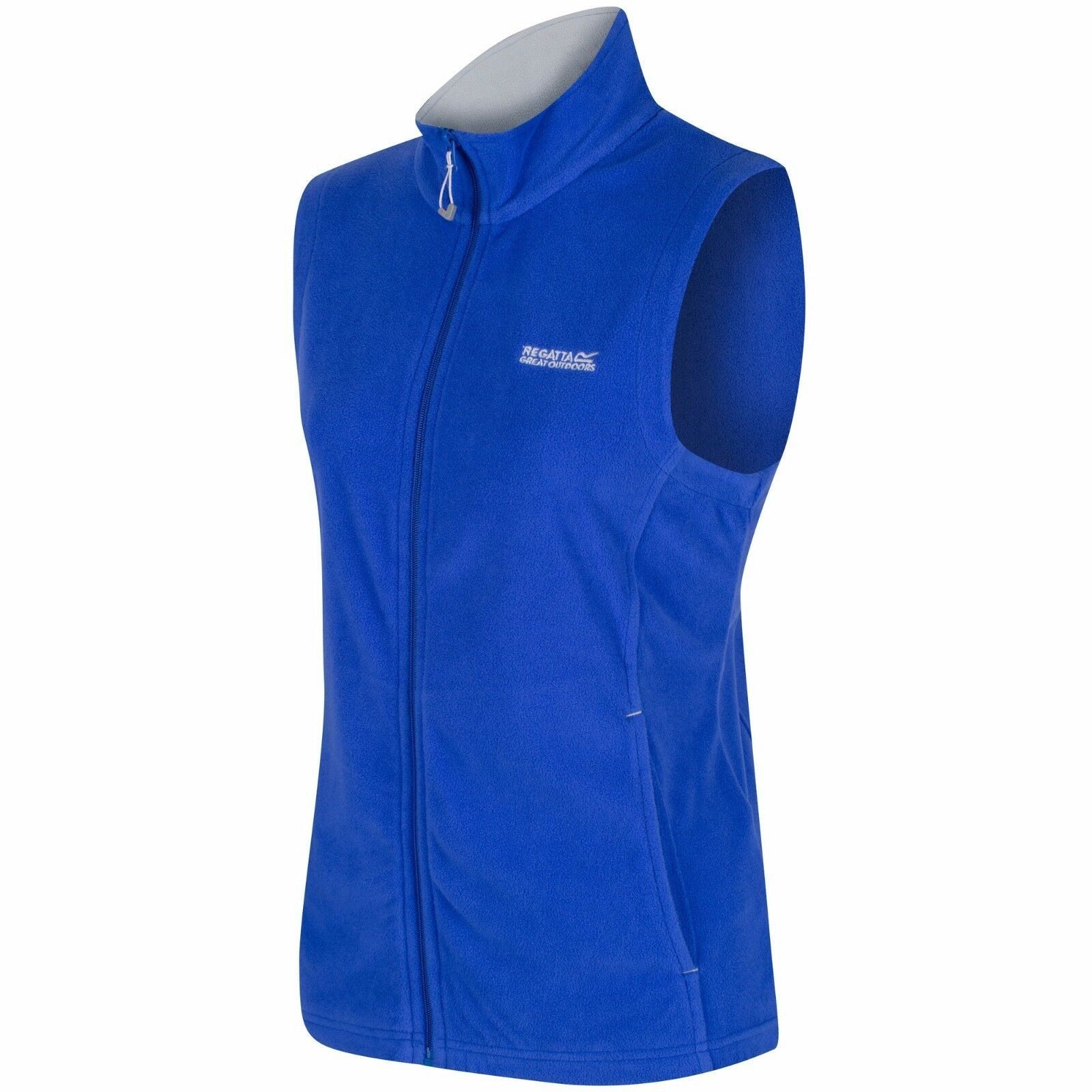 miniatuur 10 - Regatta Womens Sweetness Full Zip Micro Fleece Casual Bodywarmer Waistcoat