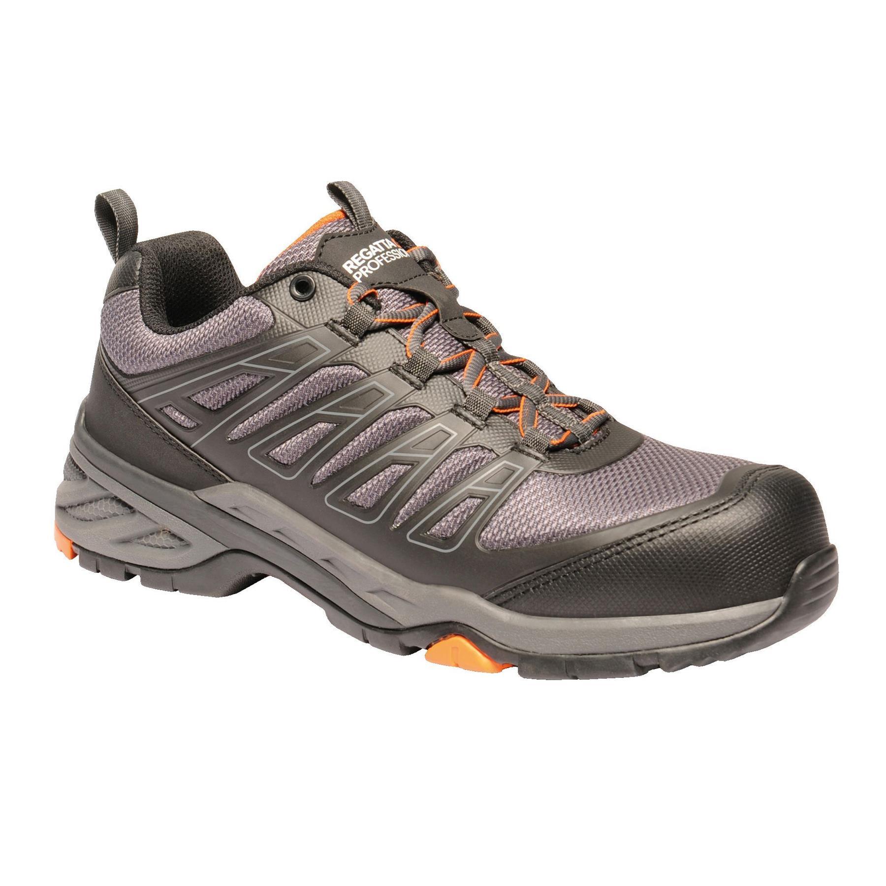 miniatuur 19 - Regatta Mens Work Safety Protective Shoes Steel Toe Cap Boots Workwear