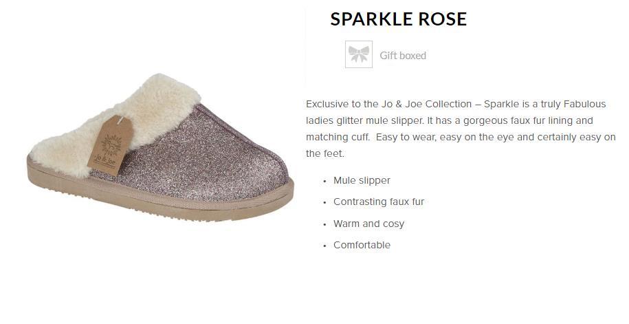 miniatuur 25 - Jo & Joe Womens Luxury Slippers Winter Warm Fur Slip On Flat Mule Bootie Girls