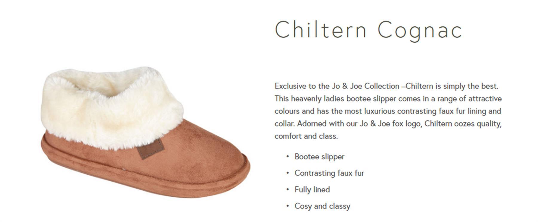 miniatuur 4 - Jo & Joe Womens Luxury Slippers Winter Warm Fur Slip On Flat Mule Bootie Girls