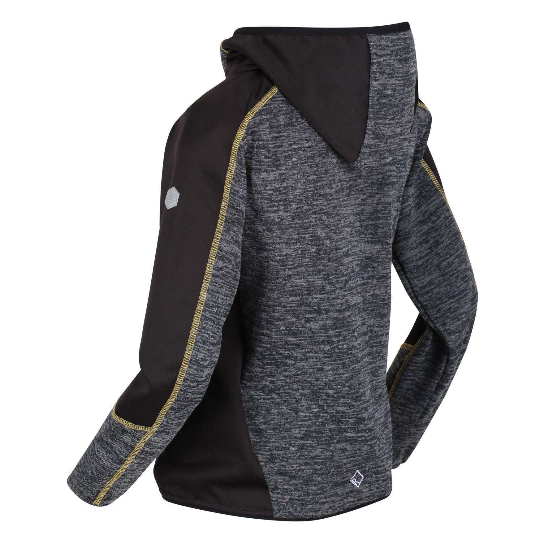 miniatuur 8 - Regatta Kids Dissolver III Full Zip Insulated Fleece Jacket Hoodie Boys Girls
