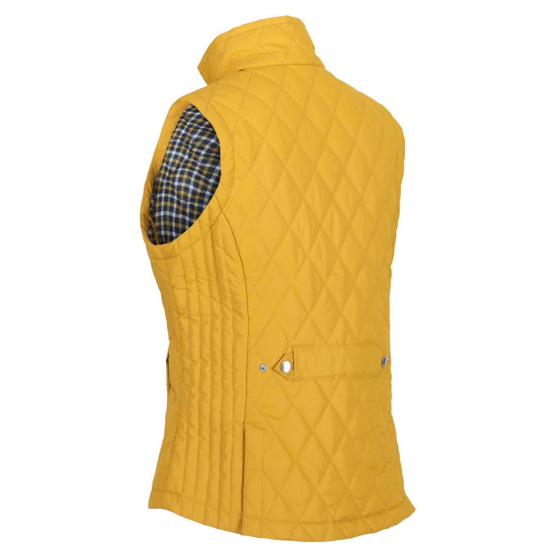 thumbnail 4 - Regatta Womens Charna Insulated Diamond Quilted Bodywarmer Vented Gilet