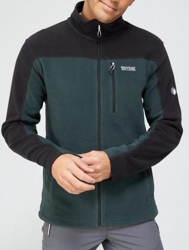 miniatuur 3 - Regatta Mens Fellard Fleece Jacket Full Zip Up Coat S M L XL 2XL 3XL 4XL
