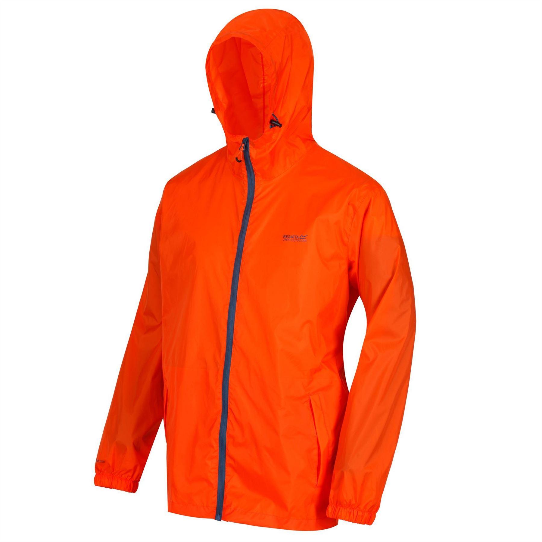 miniatuur 9 - Regatta Mens Pack-it In a bag Packable Waterproof Jacket Outdoor Pack a mac