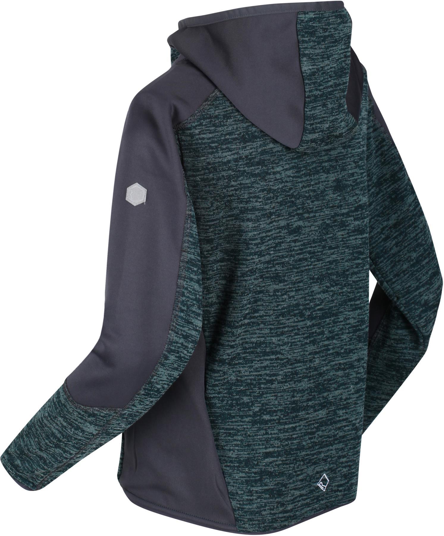 miniatuur 4 - Regatta Kids Dissolver III Full Zip Insulated Fleece Jacket Hoodie Boys Girls