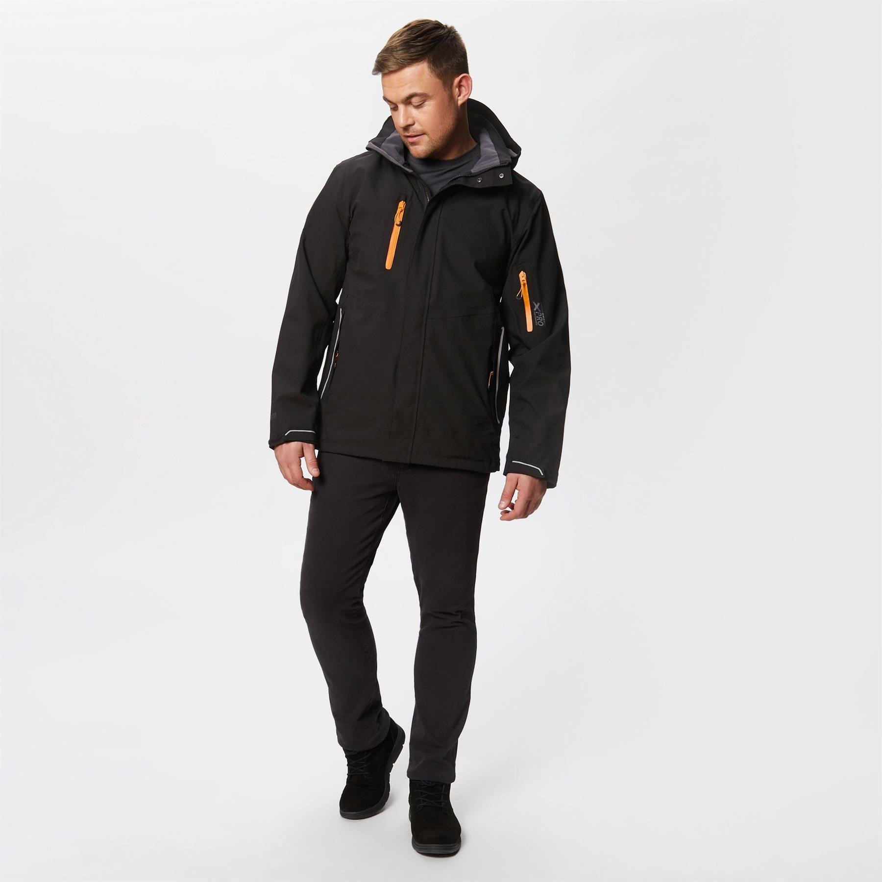 miniatuur 5 - Regatta Mens X-Pro Exosphere Stretch Waterproof Hooded Jacket