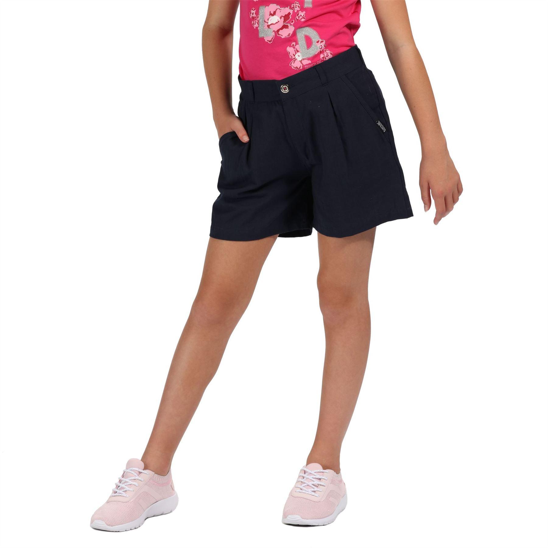 miniatuur 2 - Regatta DAMITA Childrens Coolweave Shorts Girls