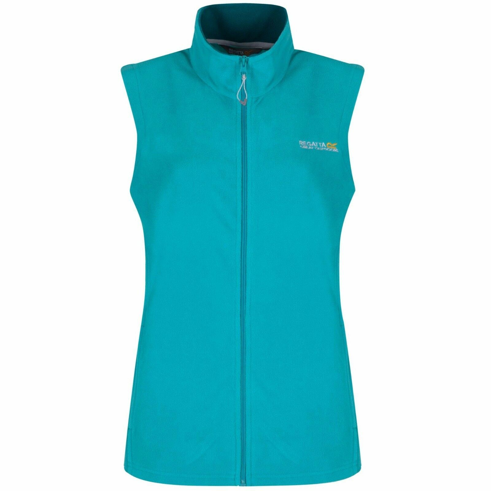 miniatuur 2 - Regatta Womens Sweetness Full Zip Micro Fleece Casual Bodywarmer Waistcoat