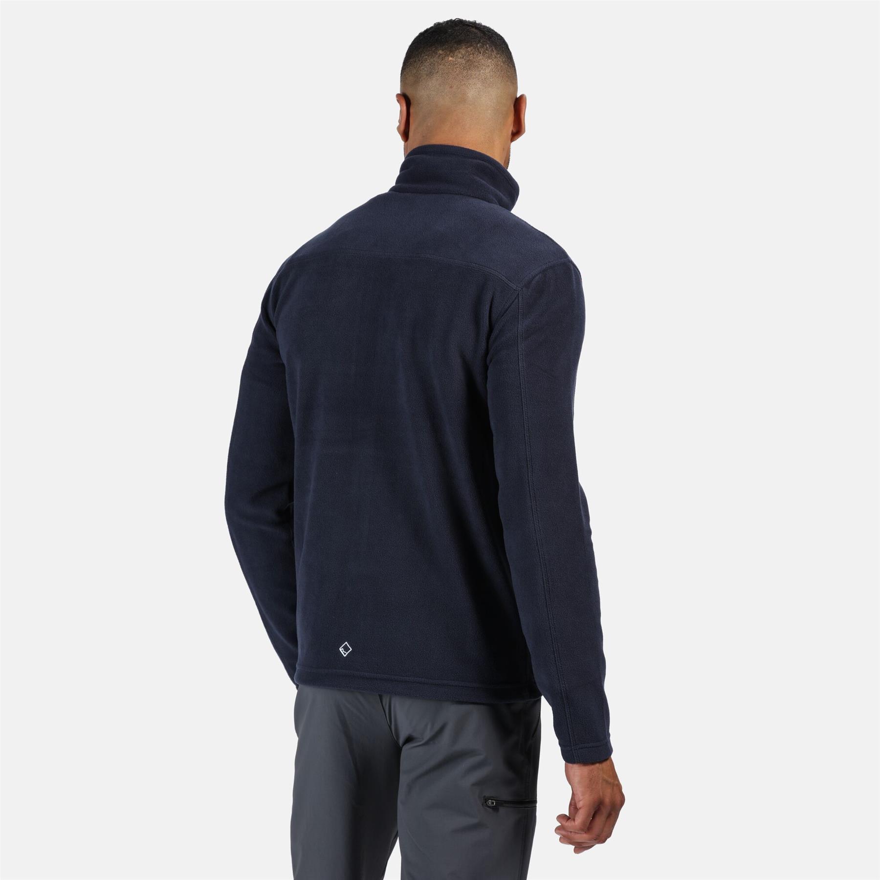 miniatuur 12 - Regatta Mens Fellard Fleece Jacket Full Zip Up Coat S M L XL 2XL 3XL 4XL