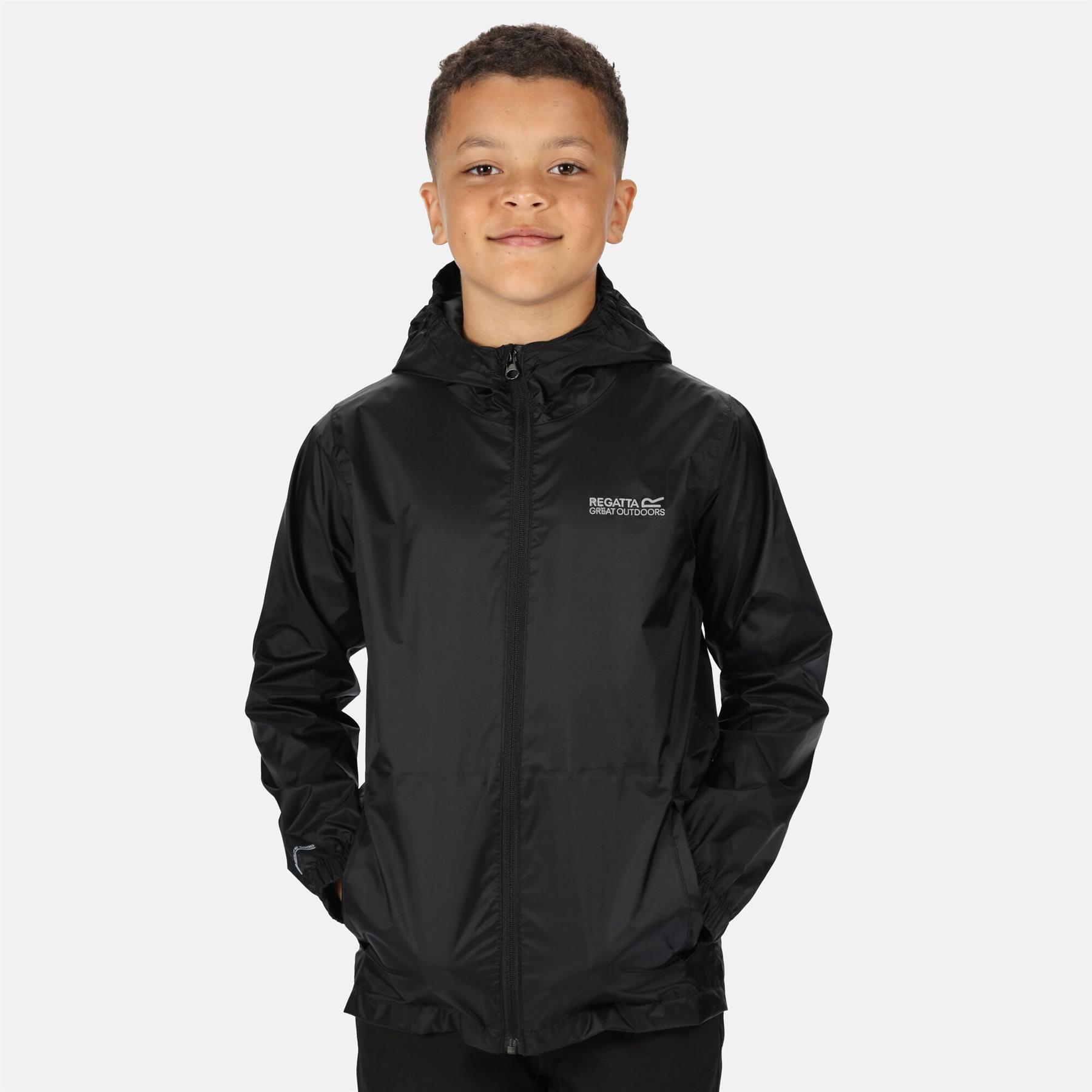miniatuur 11 - Regatta Kids Pack it Jacket II Lightweight Waterproof Packaway Jacket Boys Girls