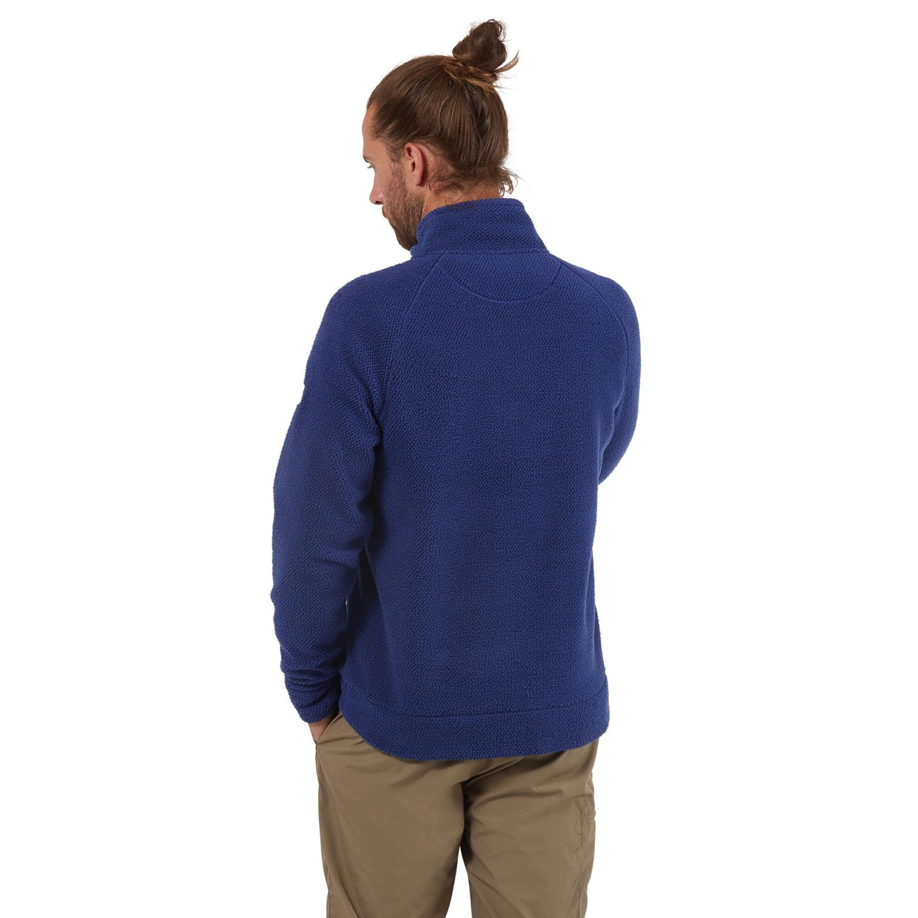 miniatuur 11 - Craghopper Mens Cason Fleece Half Zip Bobble Soft Jumper Pullover Sweater