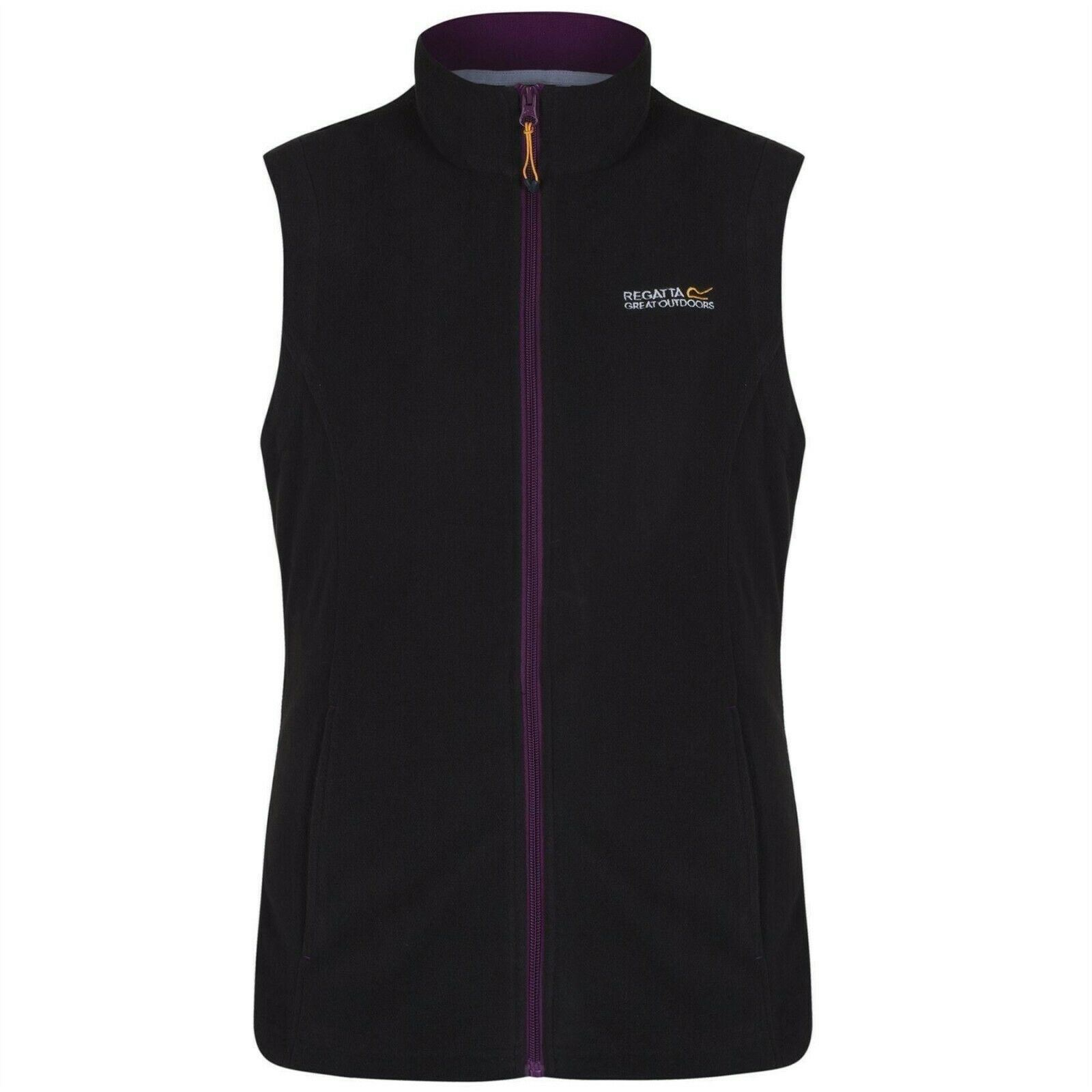 miniatuur 5 - Regatta Womens Sweetness Full Zip Micro Fleece Casual Bodywarmer Waistcoat