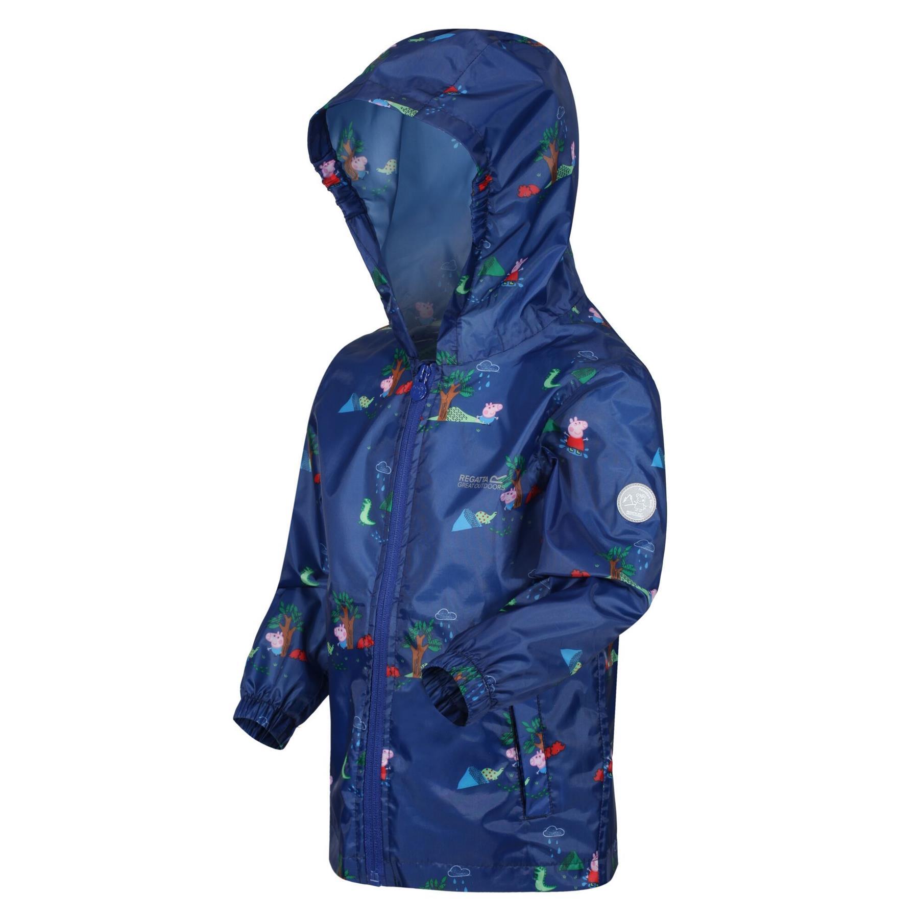 miniatuur 25 - Regatta Kids Pack it Jacket II Lightweight Waterproof Packaway Jacket Boys Girls