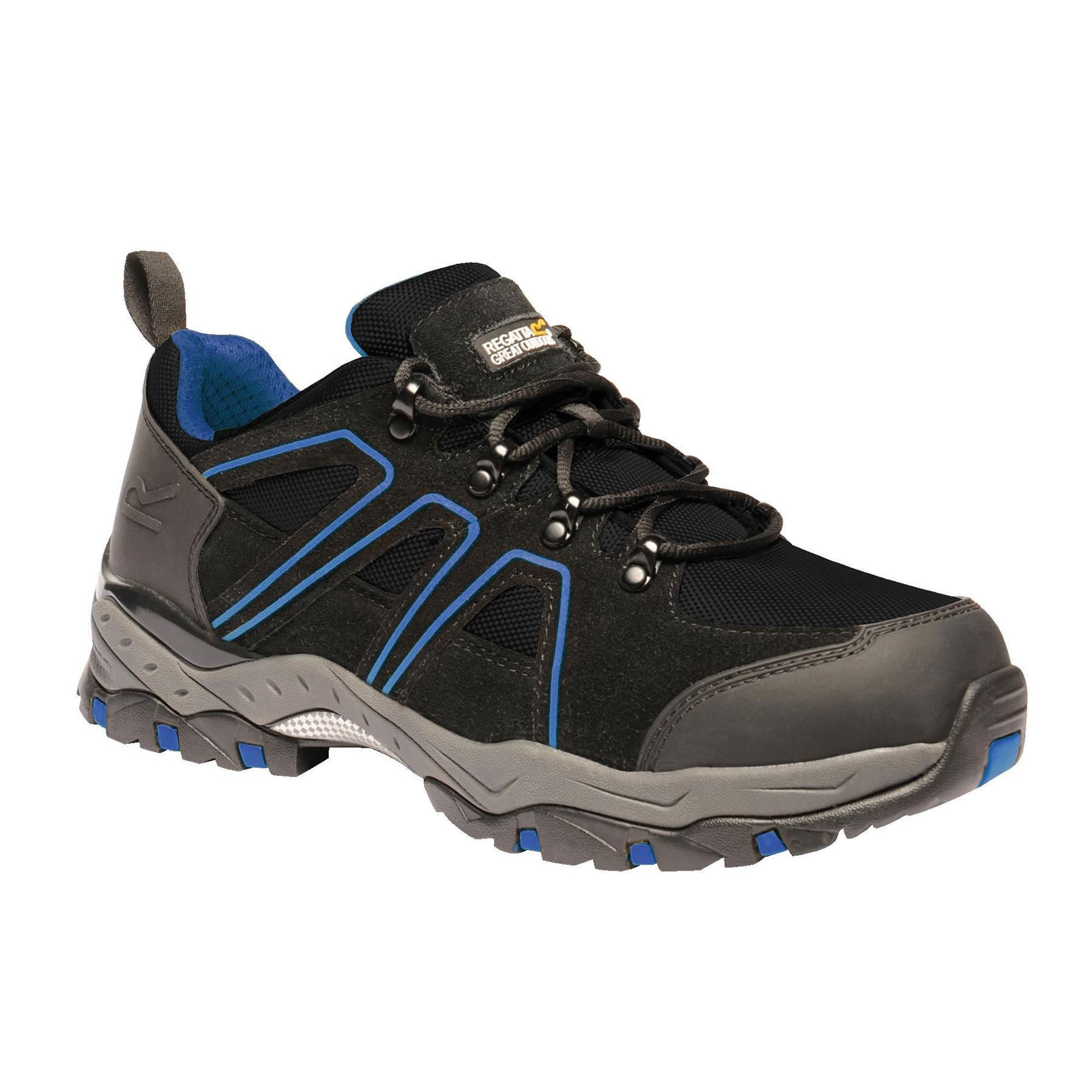 miniatuur 13 - Regatta Mens Work Safety Protective Shoes Steel Toe Cap Boots Workwear