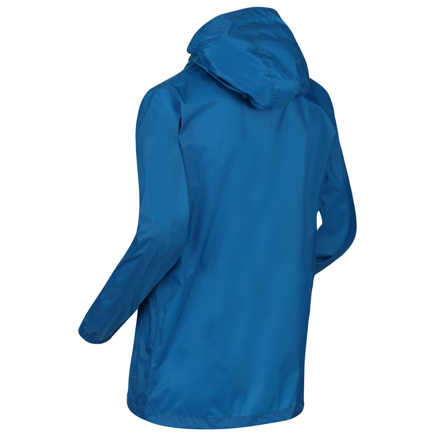 miniatuur 10 - Regatta Kids Pack it Jacket II Lightweight Waterproof Packaway Jacket Boys Girls
