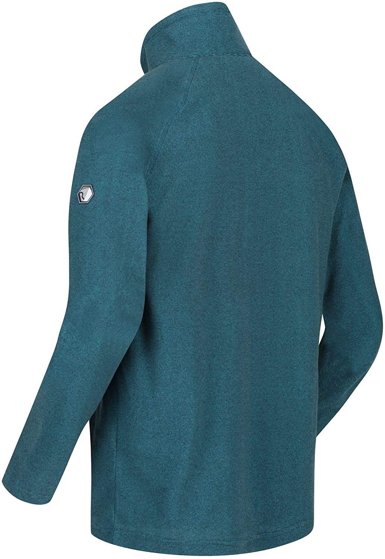 New Regatta Mens Montes Lightweight Half Zip Overhead Micro Fleece Jacket S-3XL