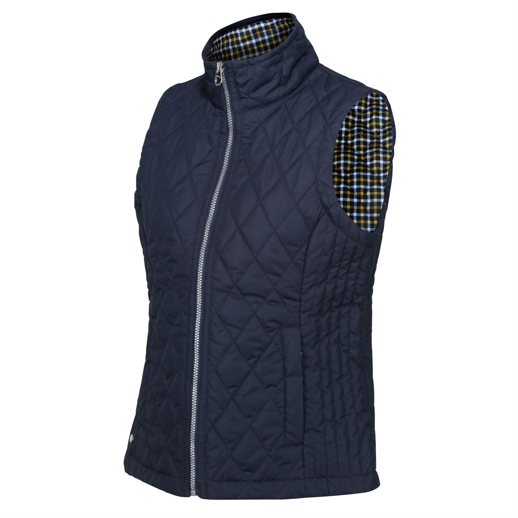 thumbnail 8 - Regatta Womens Charna Insulated Diamond Quilted Bodywarmer Vented Gilet