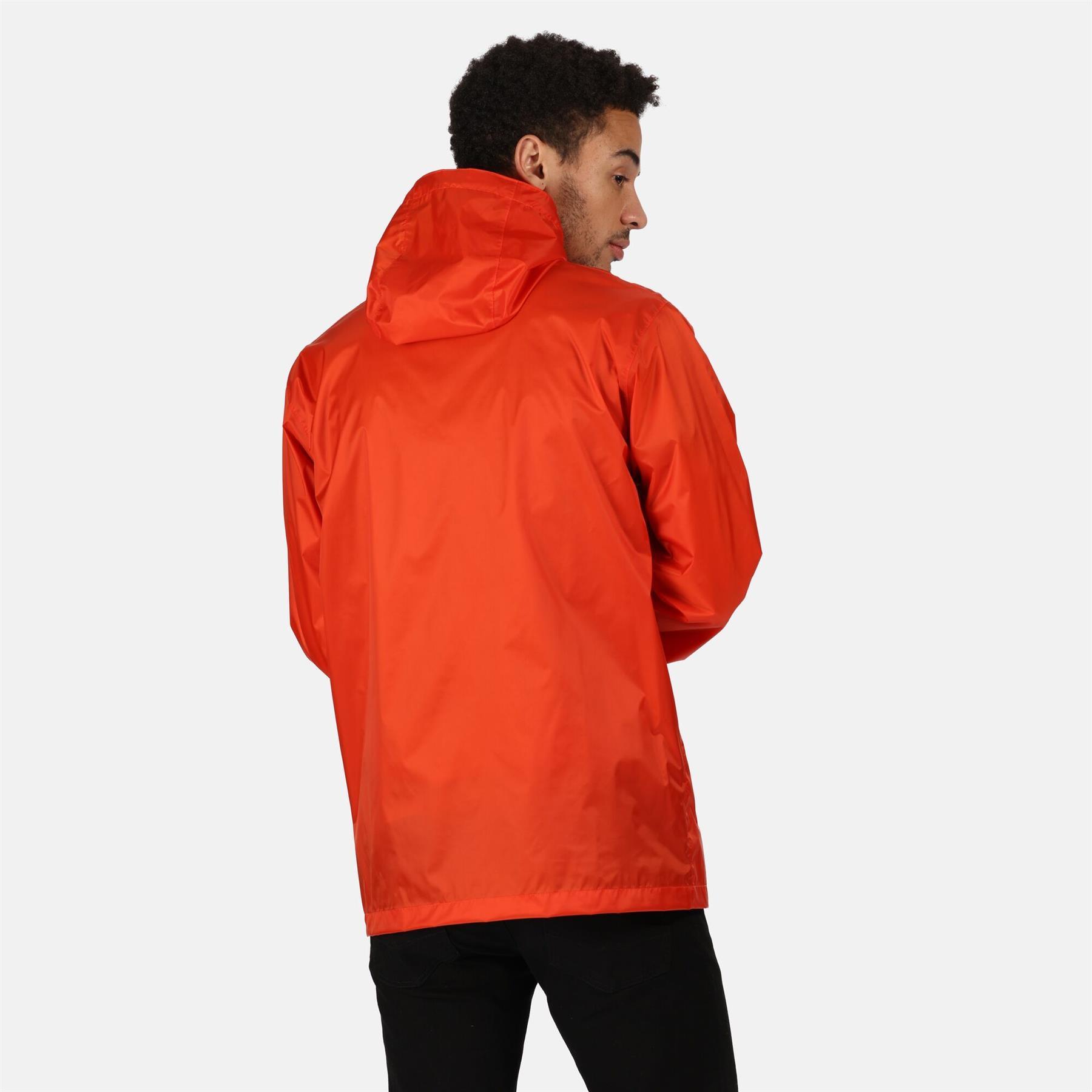 miniatuur 17 - Regatta Mens Pack-it In a bag Packable Waterproof Jacket Outdoor Pack a mac