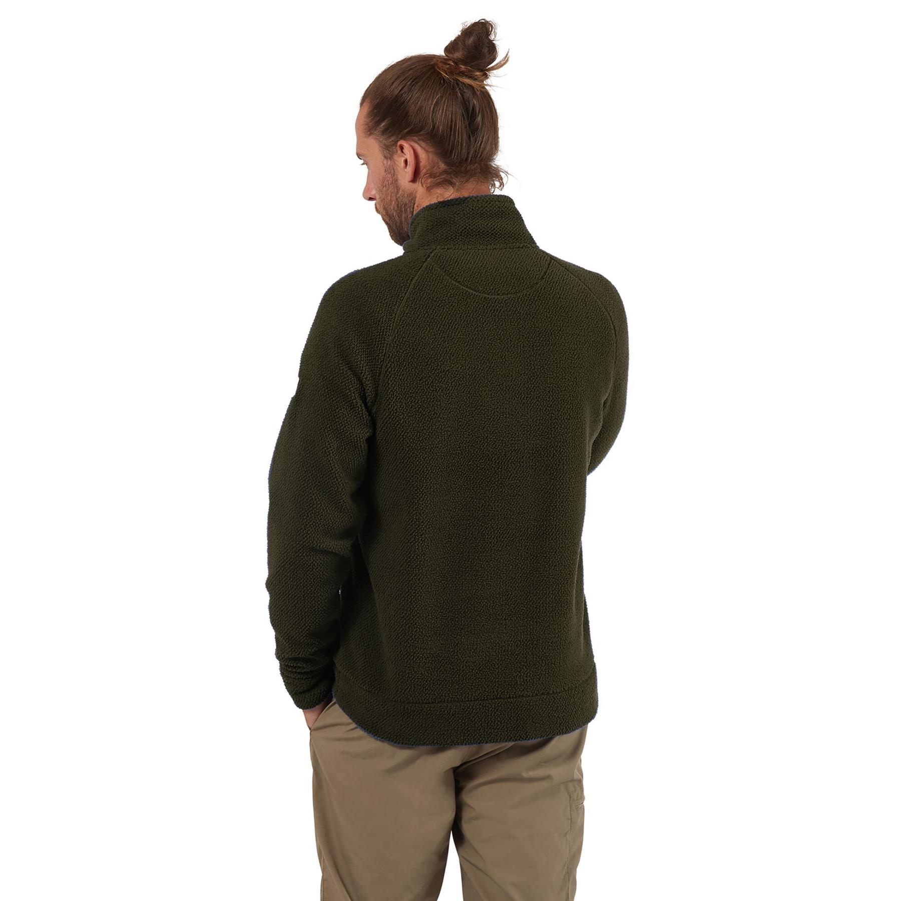 miniatuur 18 - Craghopper Mens Cason Fleece Half Zip Bobble Soft Jumper Pullover Sweater
