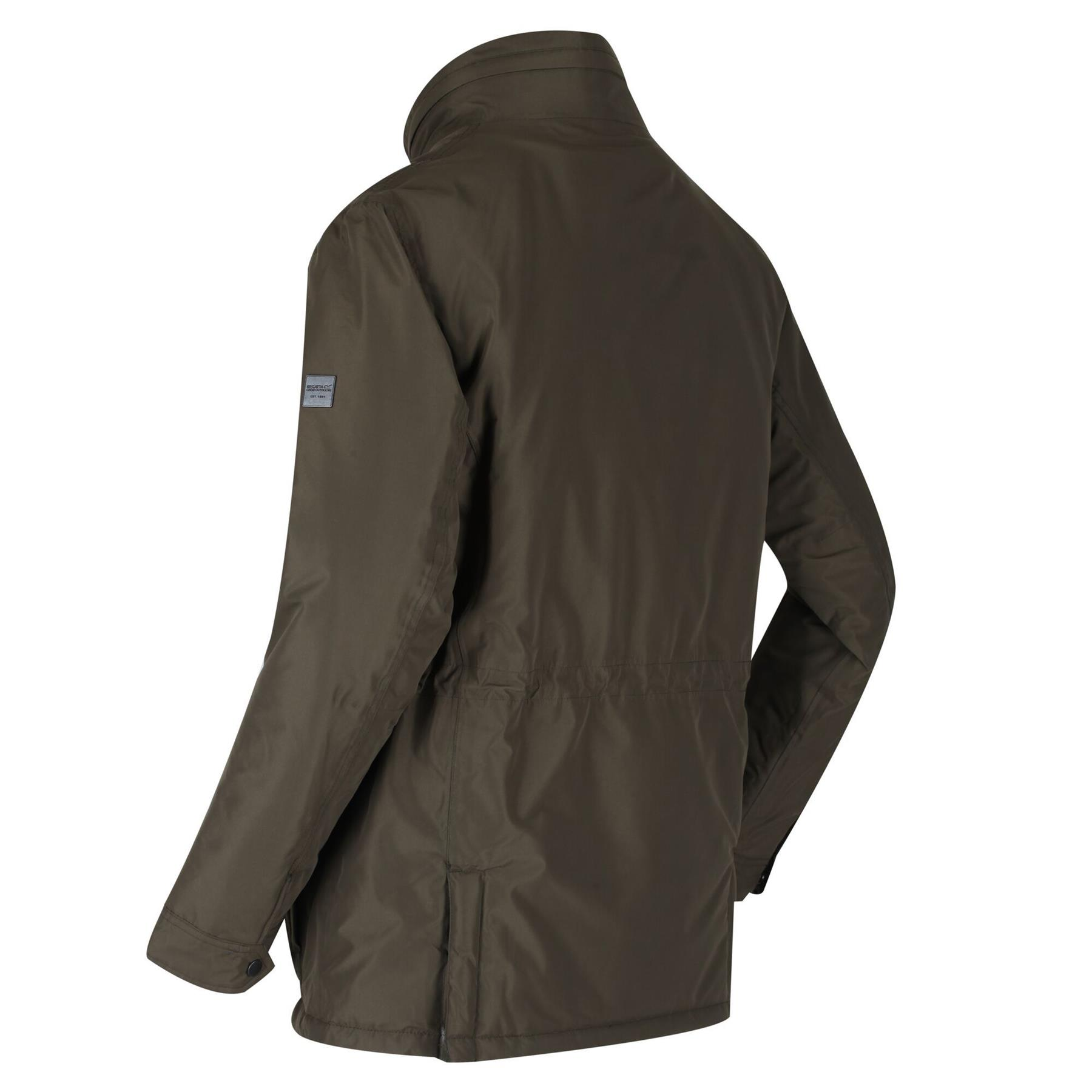 miniatuur 12 - Regatta Mens Rawson Waterproof Breathable Insulated Jacket Coat