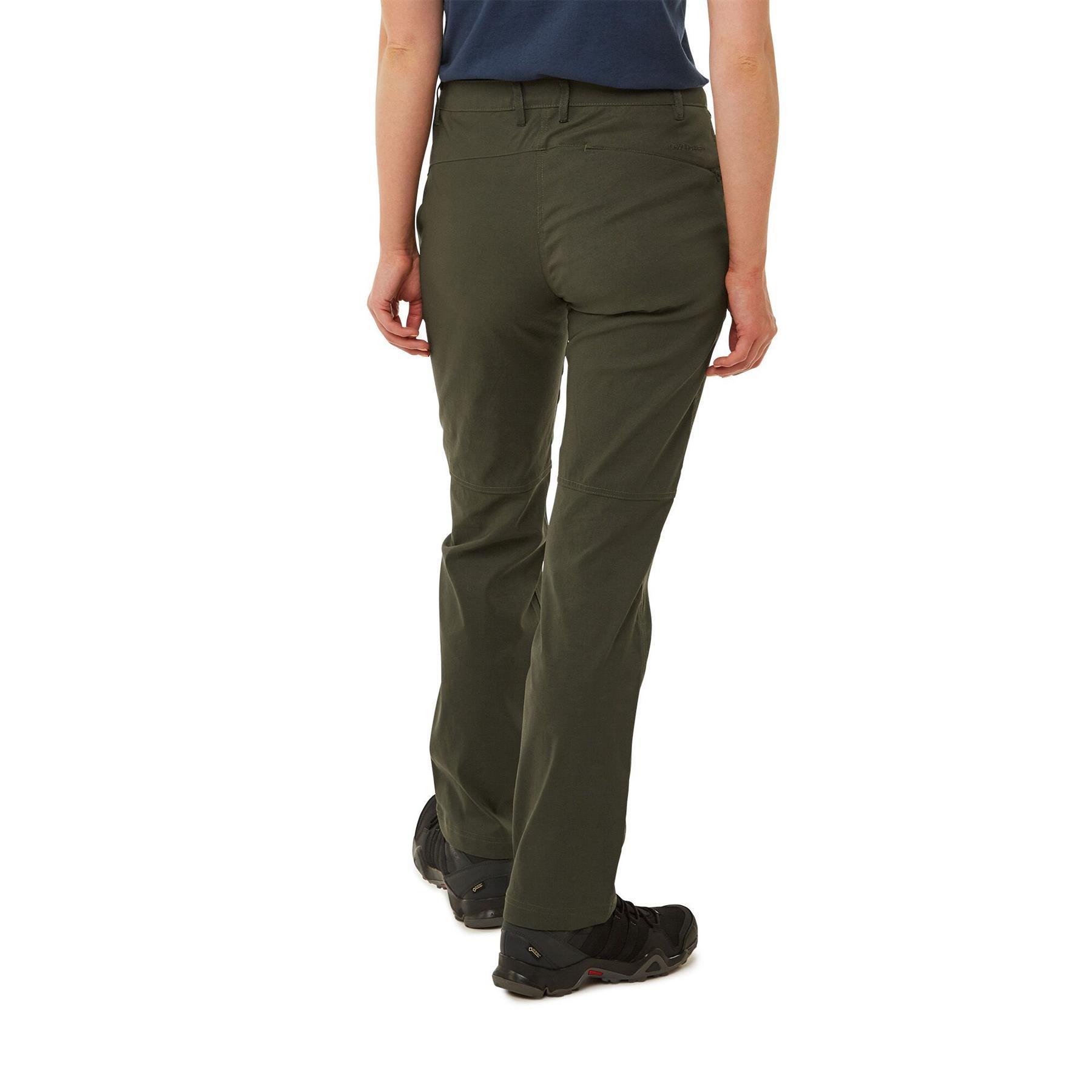 New Craghoppers Womens Kiwi Pro II Full Stretch Trousers Outdoor Walking CWJ1202