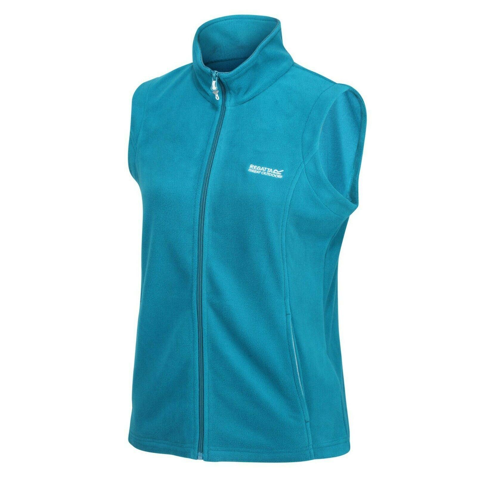 miniatuur 17 - Regatta Womens Sweetness Full Zip Micro Fleece Casual Bodywarmer Waistcoat