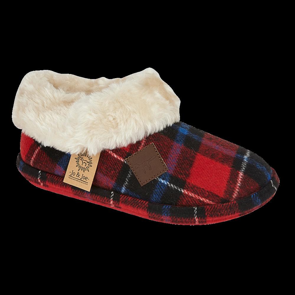miniatuur 16 - Jo & Joe Womens Luxury Slippers Winter Warm Fur Slip On Flat Mule Bootie Girls