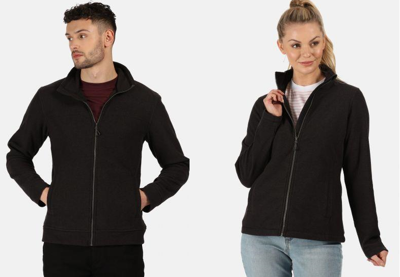 miniatuur 6 - Regatta Mens & Womens Parkline Full Zip Fleece Jacket Quick Drying Workwear