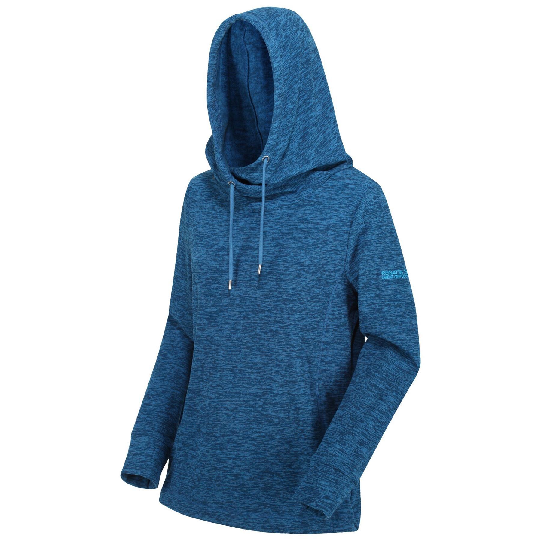 Regatta Damen Kizmit Ii Lightweight Cowl Neck Hooded Fleece Fleece