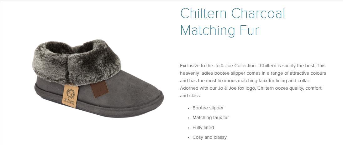 miniatuur 2 - Jo & Joe Womens Luxury Slippers Winter Warm Fur Slip On Flat Mule Bootie Girls
